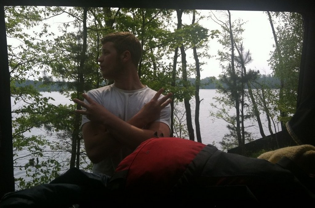 The view from Al's Bed, lake, forests....beauty